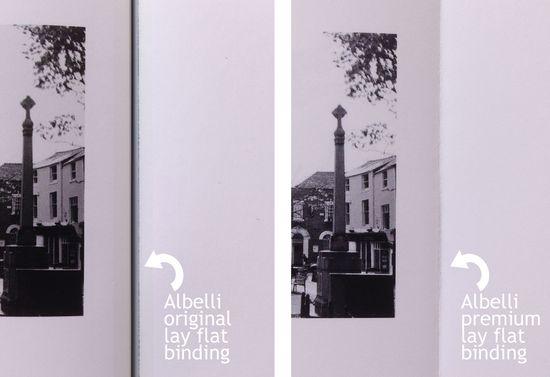 Albelli binding comparison