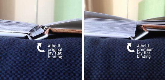 Albelli binding comparison 2